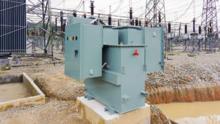 Neutral earthing system equipment at substation